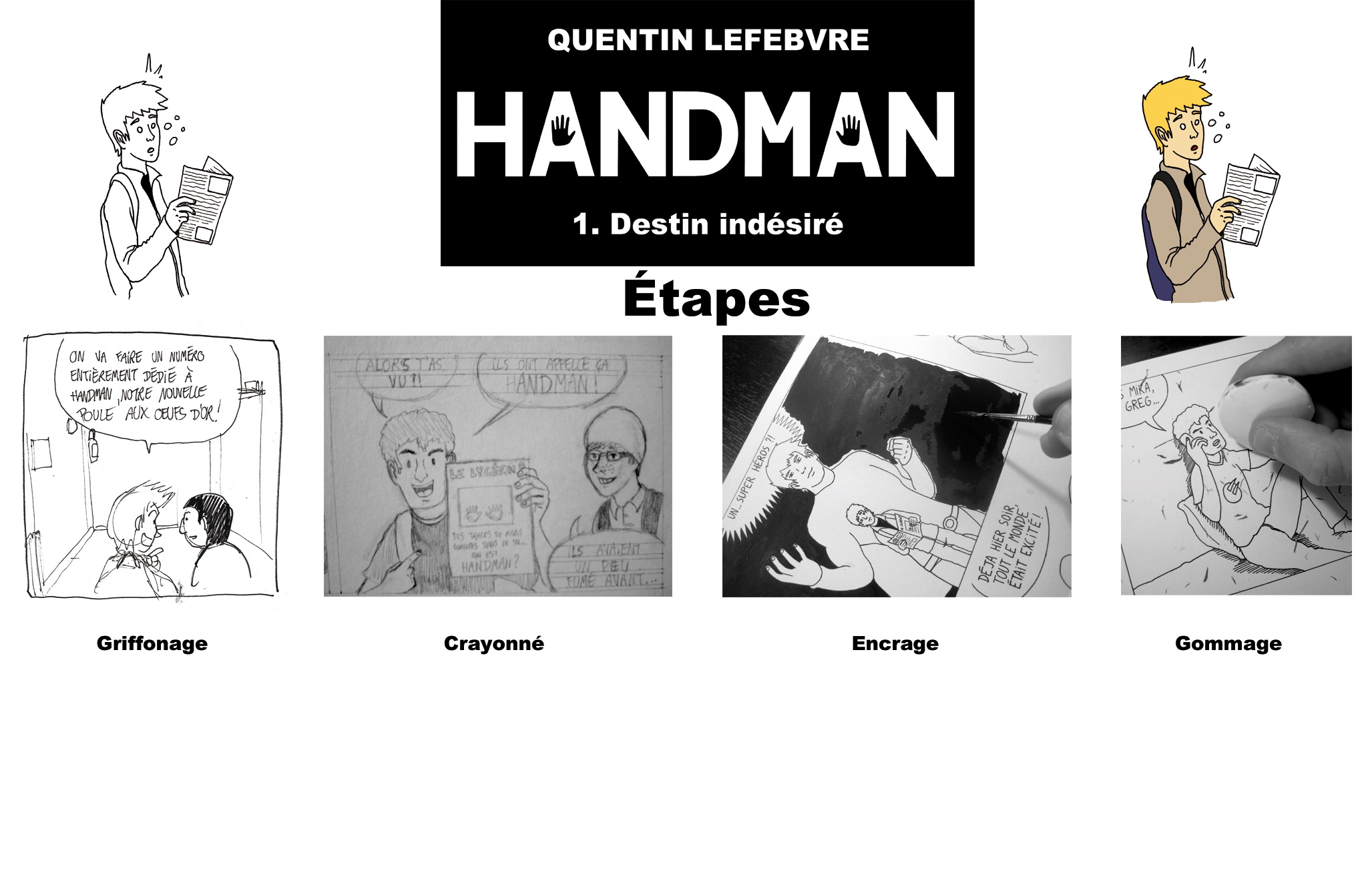 étapes cases handman rvb