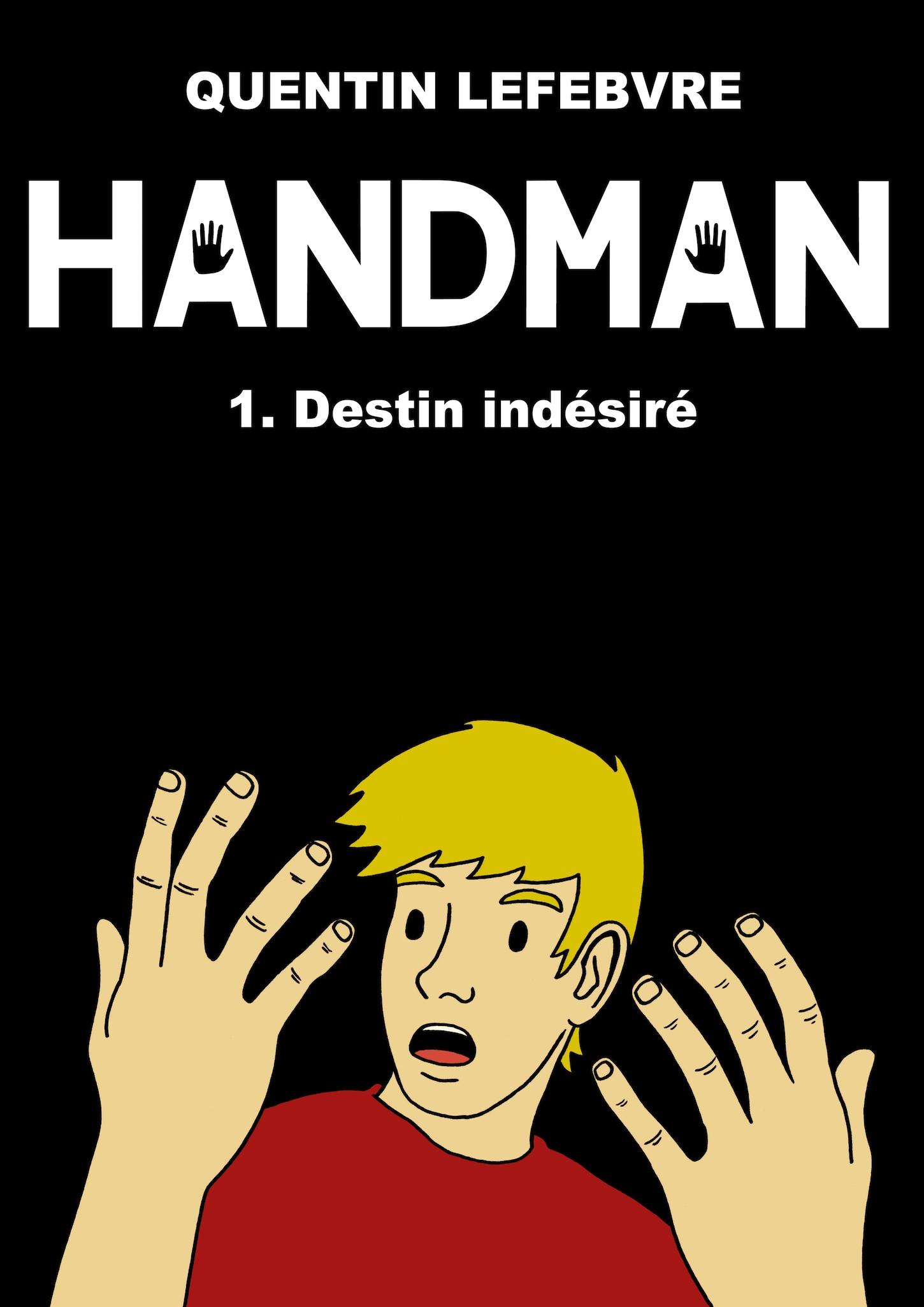 Handman1 couverture de la bd de quentin lefebvre