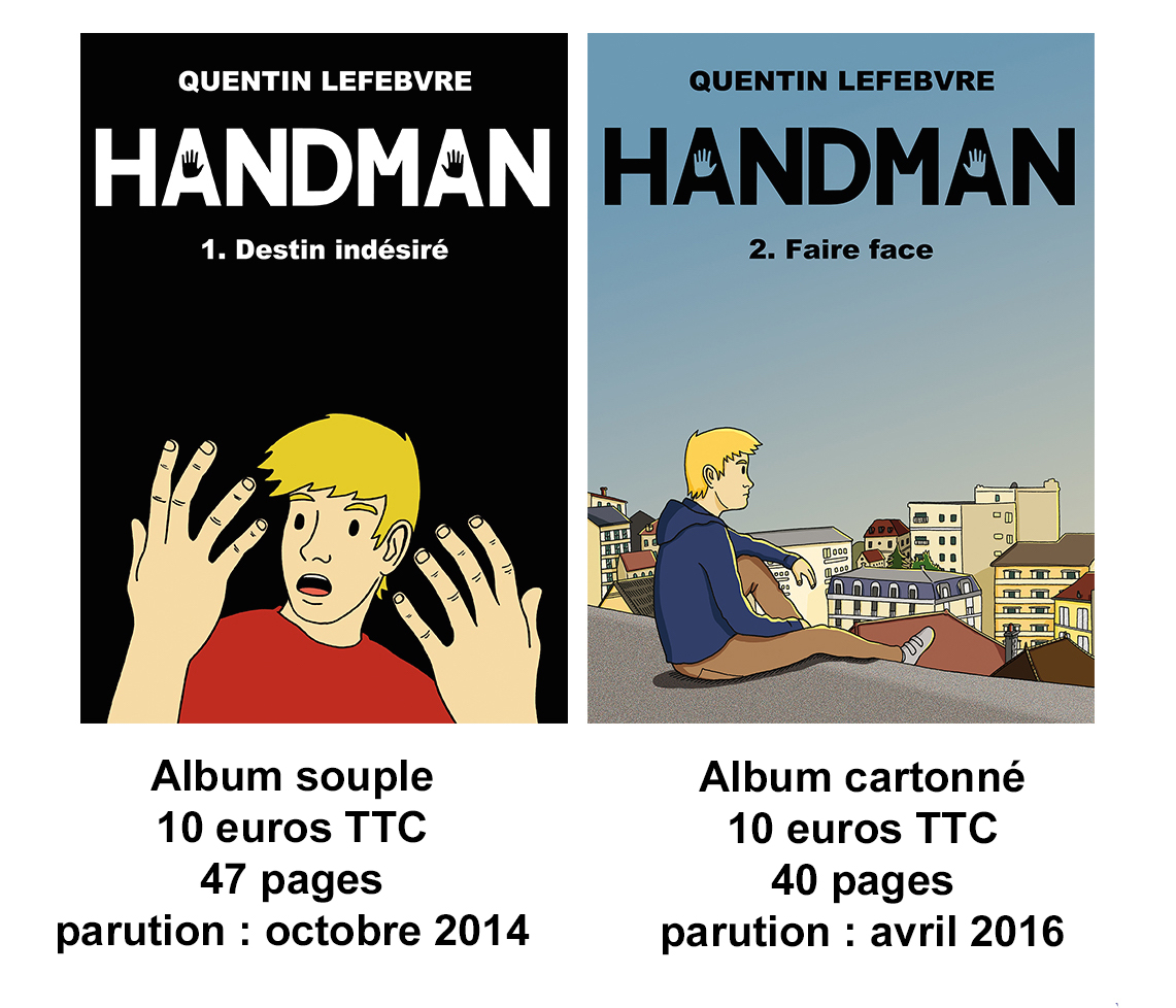 saga handman 2albums
