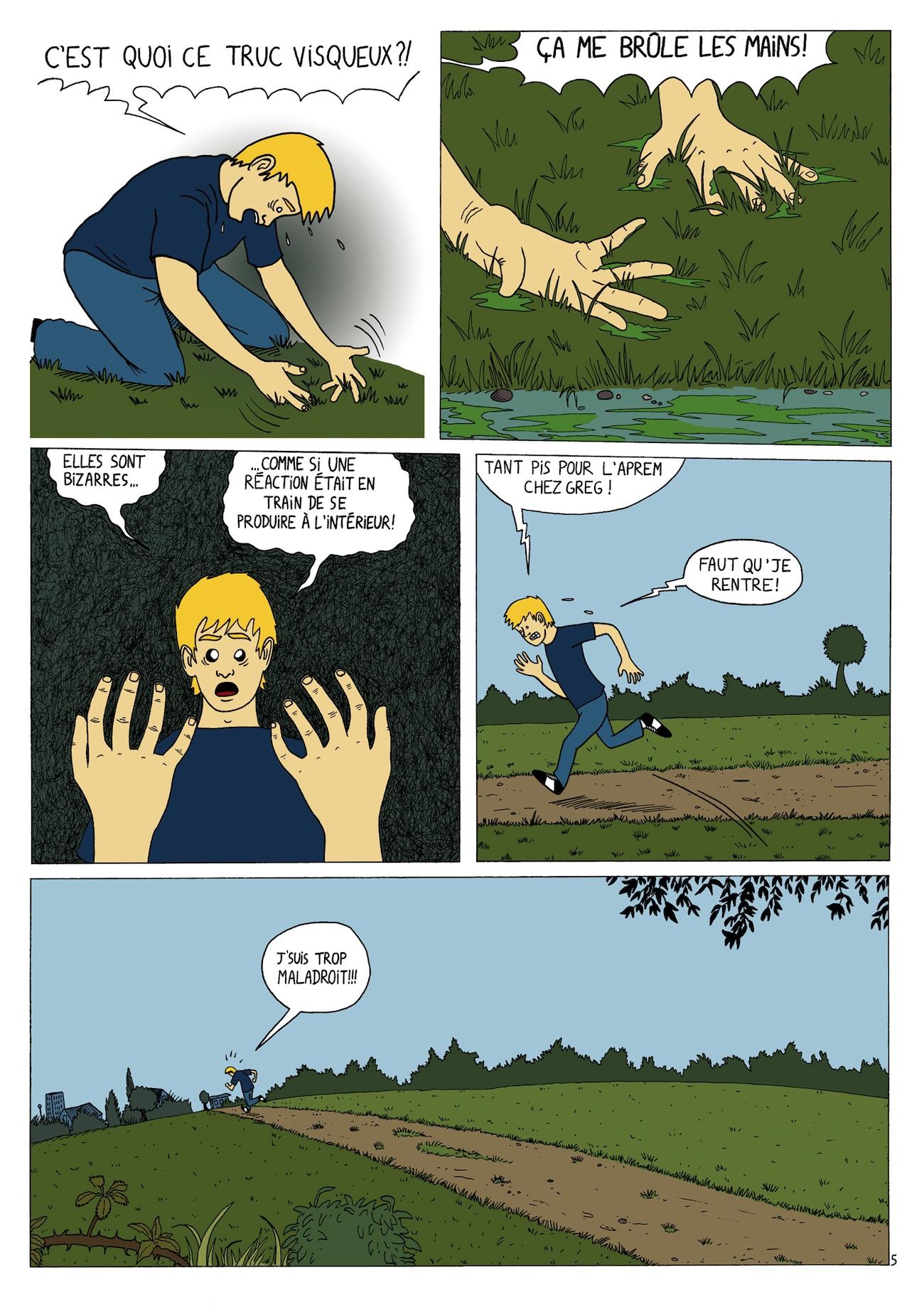 handman tome1 page5 par quentin lefebvre